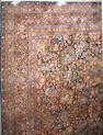 A Kashmiri carpet India, size approximately 8ft. x 10ft. 1in.