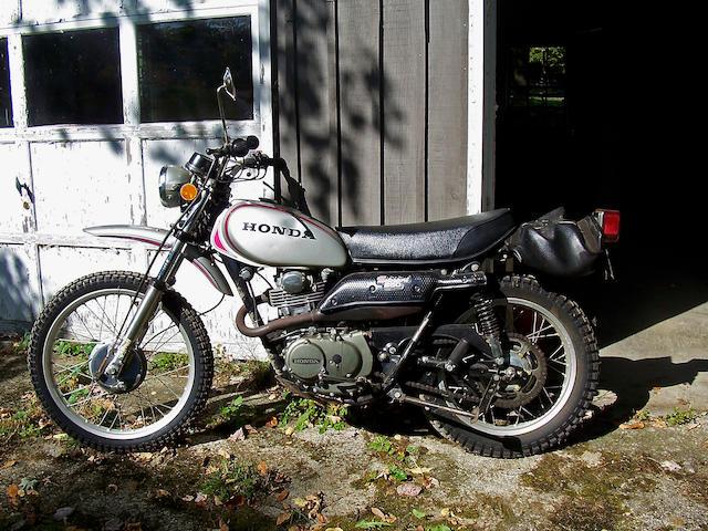 1972 Honda XL250 Motorsport Frame no. XL250 1015035