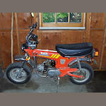 1977 Honda Trail 70 Motorcycle