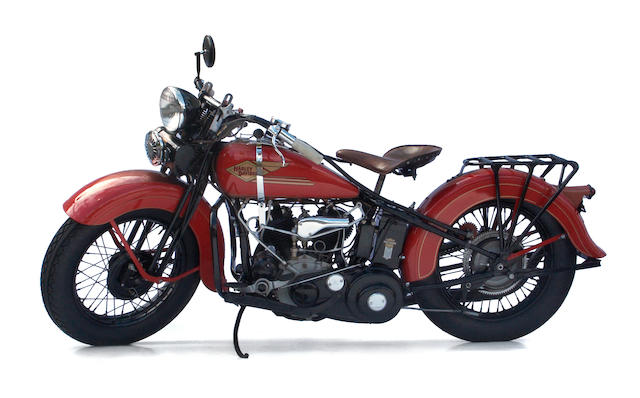 The ex-Clark Gable,1934 Harley-Davidson RL