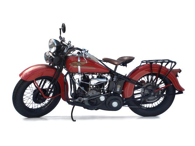 The ex-Clark Gable,1934 Harley-Davidson 45ci RL Engine no. 34RL2748