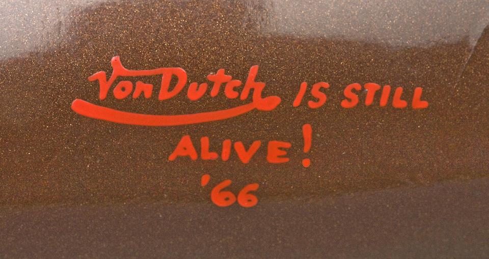 The Von Dutch,1953 BMW 500cc R51/3 Frame no. 539141 Engine no. 539141