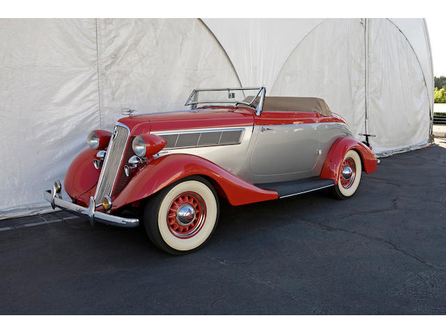 1935 Studebaker Dictator Roadster  Chassis no. 1AR13291