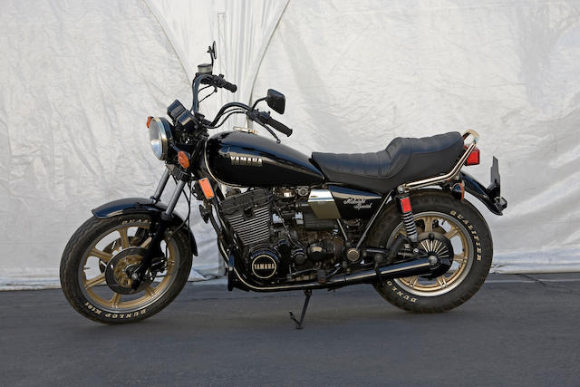 1981 Yamaha XS850 Midnight Special Frame no. 4H1002785