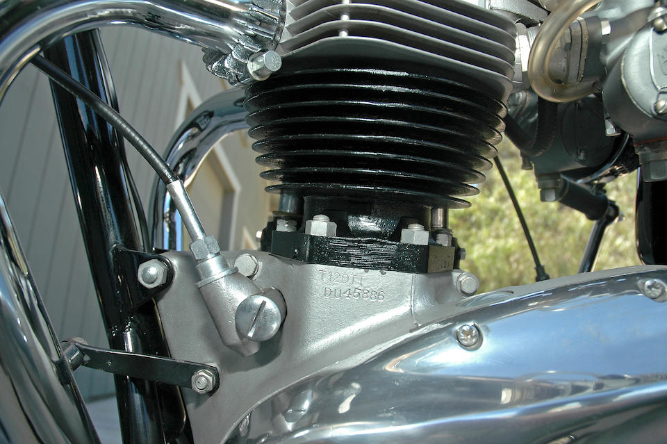 Bonhams : 1967 Triumph 649cc T120TT Bonneville TT Special