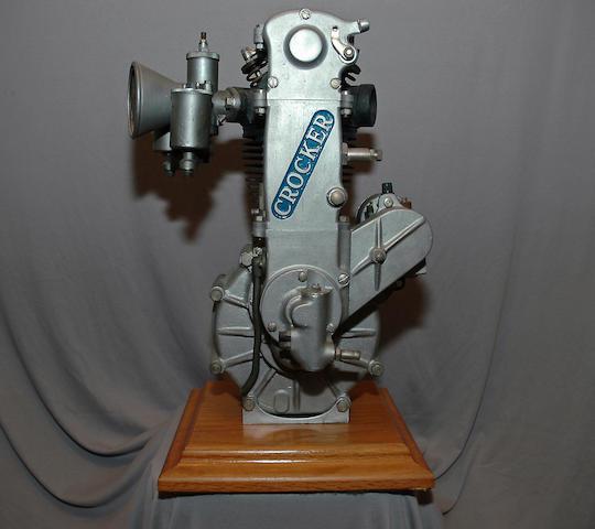 c.1933 Crocker Overhead-Camshaft Speedway Engine