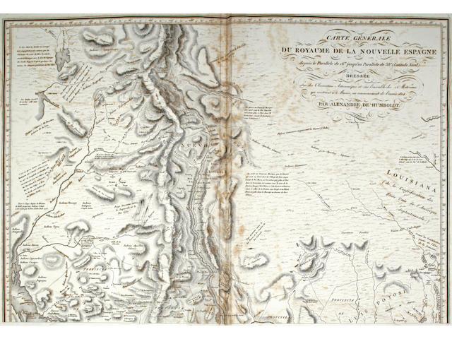 HUMBOLDT, ALEXANDRE VON. 1769-1859.