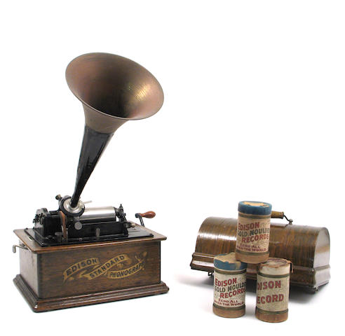 An Edison standard phonograph