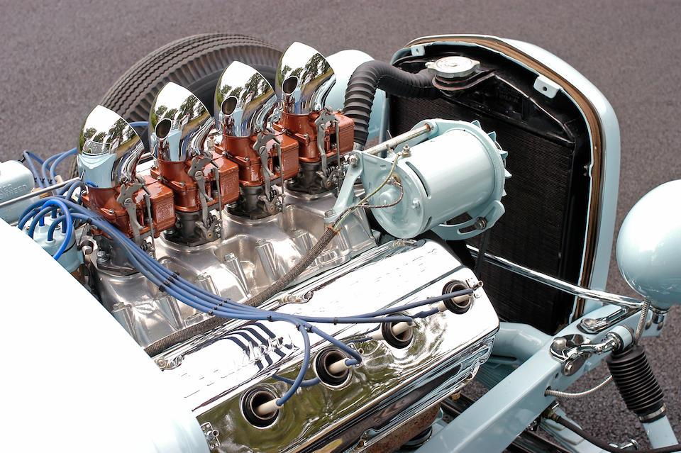 The Sonny Mazza,1930 Ford Model A Hemi Hot Rod Roadster