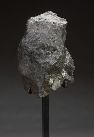 Campo del Cielo Meteorite on Stand
