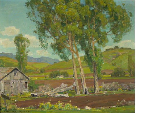 William Wendt (American, 1865-1946) Hidden Valley (No. 6), 1939 30 x 36in