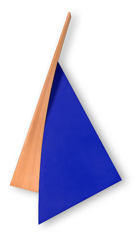 Tony Delap (American, born 1927) Bluey-Bluey, 1992 88 x 47 x 9in (223 x 120 x 23cm)