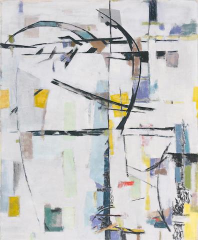 Judith  Rothschild (American, 1921-1993) Soltiche, c. 1955 30 x 24in (76.2 x 61cm)