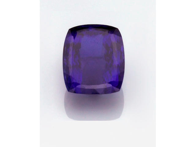 Superb Tanzanite of Impressive Size