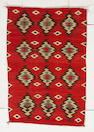 A Navajo transitional rug, 4ft 11in x 3ft 3in