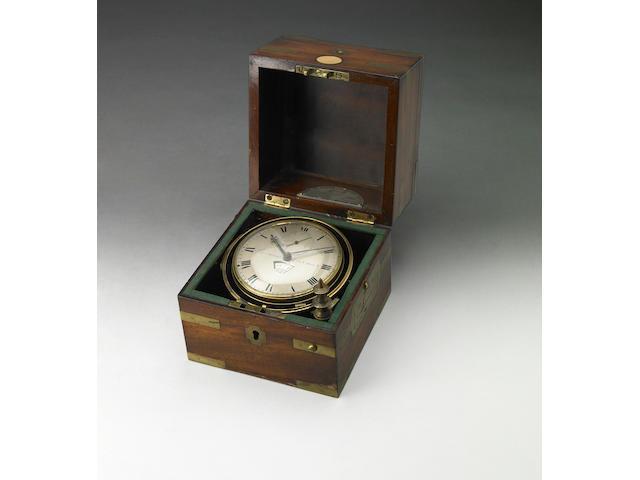 A George III two day marine chronometer