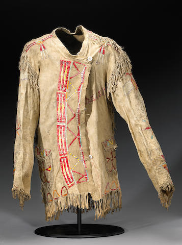 A Sioux quilled jacket