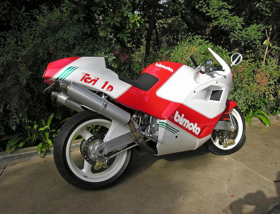 1,191 original miles,1992 Bimota Tesi DB1 Frame no. 10 Engine no. 904.003301
