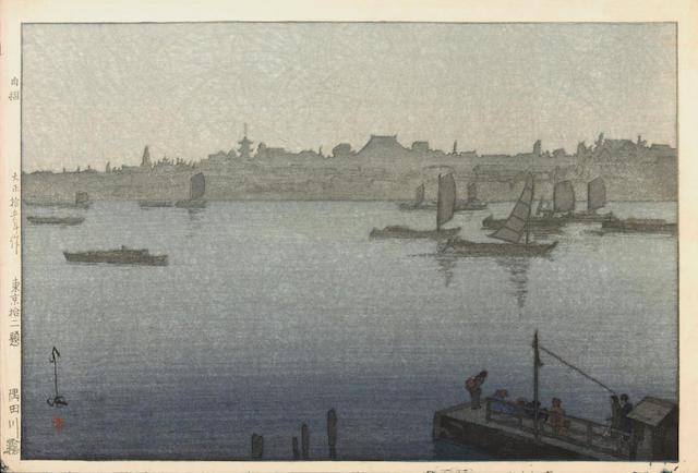 Hiroshi Yoshida (1876-1950) Three modern prints
