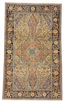 A Mohtashem Kashan rug Central Persia, size approximately 4ft. 1in. x 6ft. 9in.