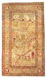 A Lavar Kerman rug Northeast Persia,  size approximately 4ft. 7in. x 7ft. 11in.