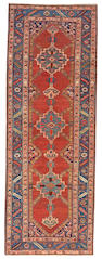 A Bakshaish runner Northwest Persia, size approximately 3ft. 6in. x 9ft. 9in.