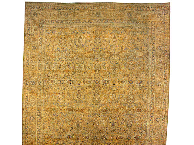 A Tabriz carpet Northwest Persia, size approximately 14ft. 6in. x 26ft. 6in.