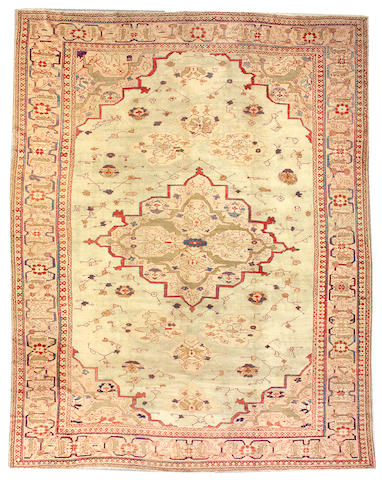 A Ziegler Sultanabad Central Persia, siza approximately 11ft. 9in. x 15ft. 3in.