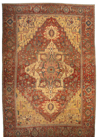 A Serapi carpet Northwest Persia, size approximately 13ft. 2in. x 19ft. 2in.