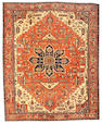 A Serapi carpet Northwest Persia, size approximately 12ft. x 15ft.