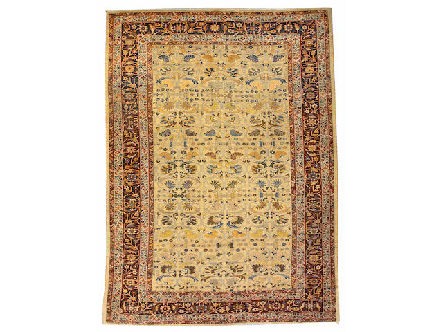 A Sultanabad carpet Central Persia, size approximately 12ft. 2in. x 17ft.