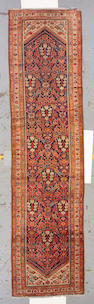 A Malayer runner Persia, size approximately 3ft. 5in. x 13ft. 7in.