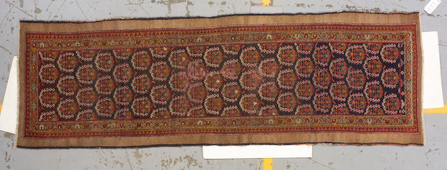 A Serab runner size approximately 2ft. 11in. x 9ft. 4in.