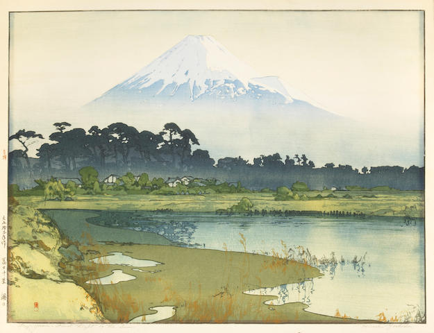 Hiroshi Yoshida (1876-1950) One oversize modern print