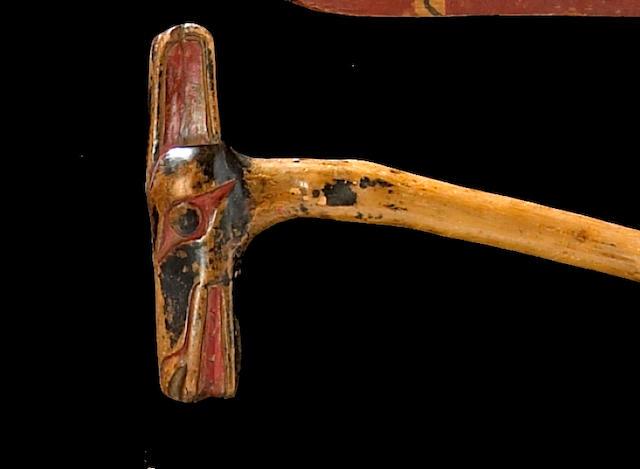 A Northwest Coast walking stick
