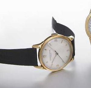 Vacheron & Constantin. An 18k gold wristwatch with claw lugs Movement No.480121, circa 1949