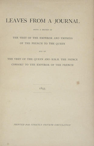 VICTORIA, QUEEN OF ENGLAND.  1819-1901.