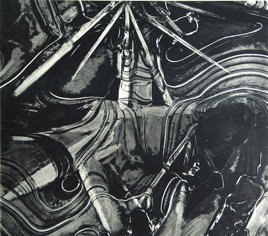 Brett Weston (American, 1911-1993); Ice Form;