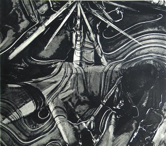 Brett Weston (American, 1911-1993); Ice Form;