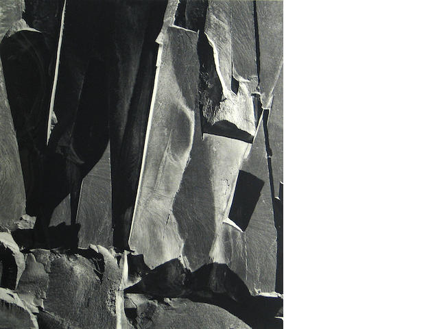 Brett Weston (American, 1911-1993); Rock Wall;
