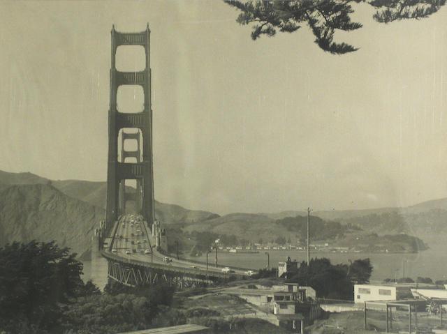Peter Stackpole (American, 1913-1997); Scenes of Golden Gate Bridge;