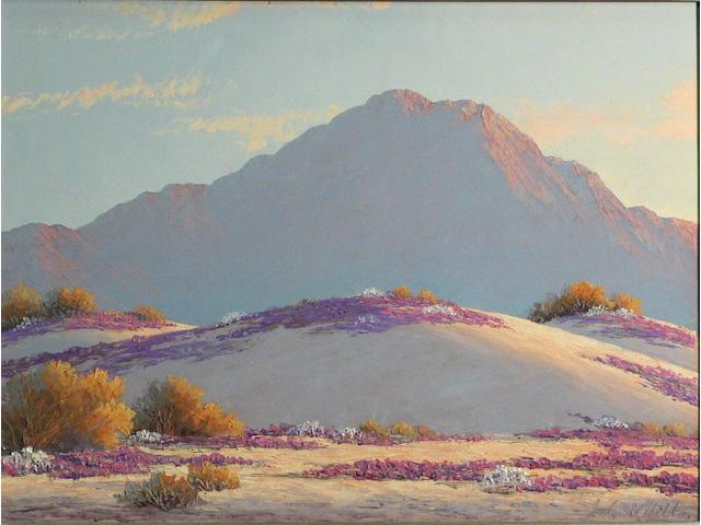 John William Hilton (American, 1904-1983) Springtime 12 x 16in
