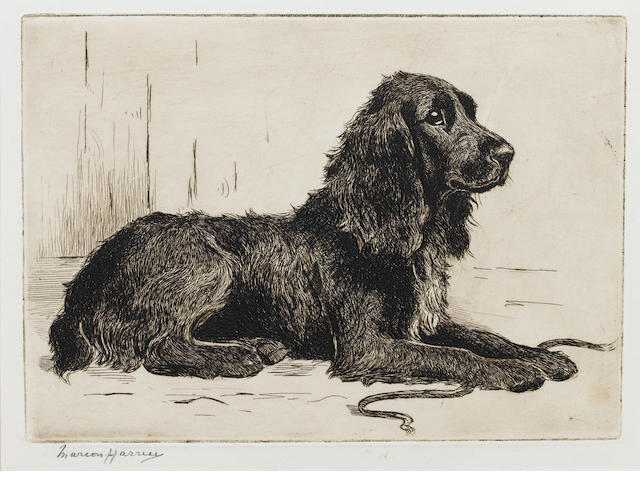 Marion Rodger Hamilton Harvey (British, 1886-1971) Ready 6 x 8 1/2 in. (15 x 21.5 cm.) unframed