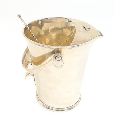Hand Wrought Sterling Cocktail Bucket by Porter Blanchard