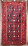 A Belouch rug Afghanistan, size approximately 3ft. 2in. x 4ft. 3in.