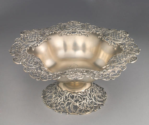 Sterling Centerpiece Bowl by Shreve & Co.