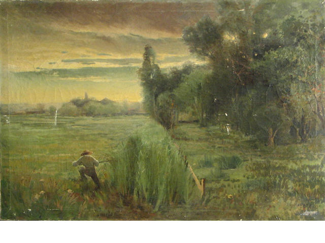 WM. Hubacek, 24 X 36 1/2 in, The Hunter