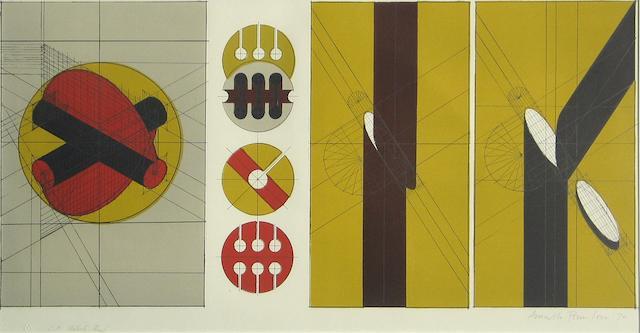 Arnaldo Pomodoro (Italian, born 1926); Untitled;