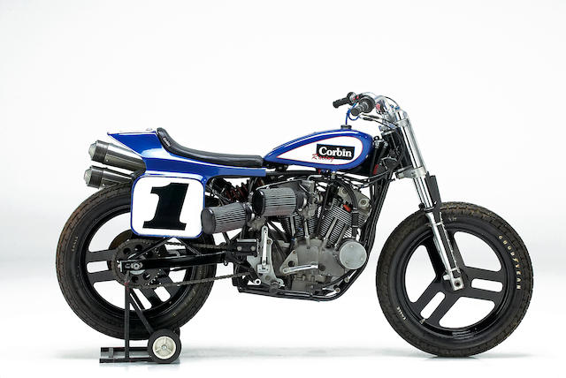 The ex-Joe Kopp, 2000 AMA Grand National Championship-winning,1982 Harley-Davidson XR750 Racing Motorcycle Engine no. 1C10008K8