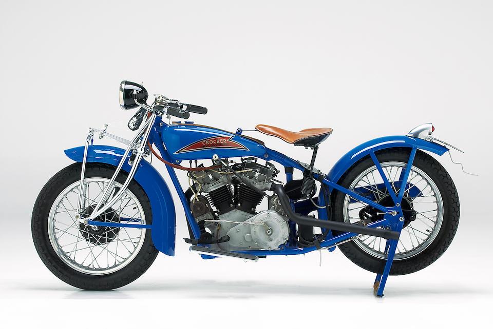1929 Indian-Crocker 45ci Overhead-Valve Conversion Engine no. GB OHV 01